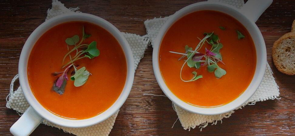 sopa de pimientos receeta